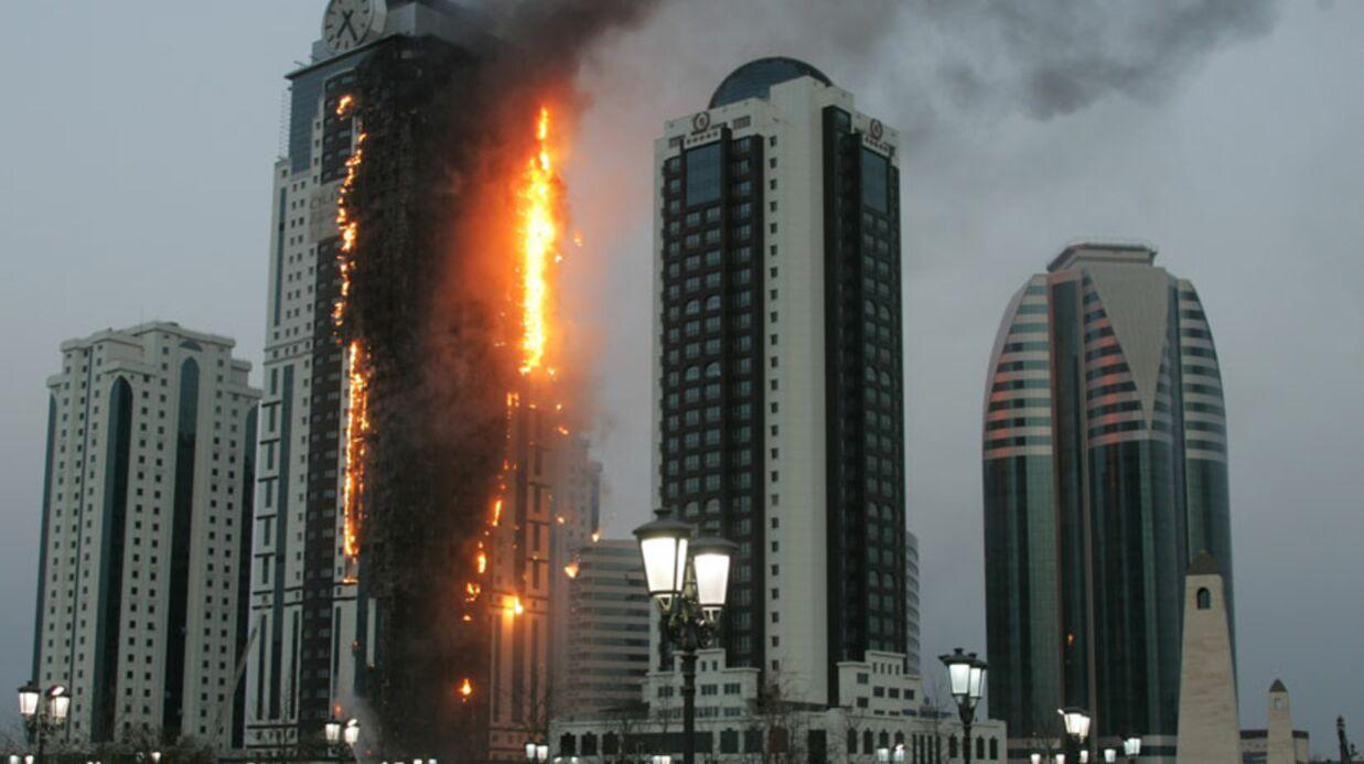L'appartement de Depardieu en Tchétchénie menacé par les flammes