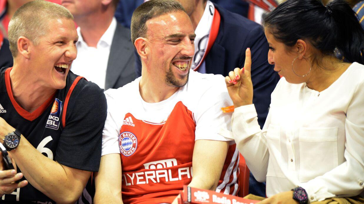 PHOTOS Franck et Wahiba Ribéry plus amoureux et complices que jamais