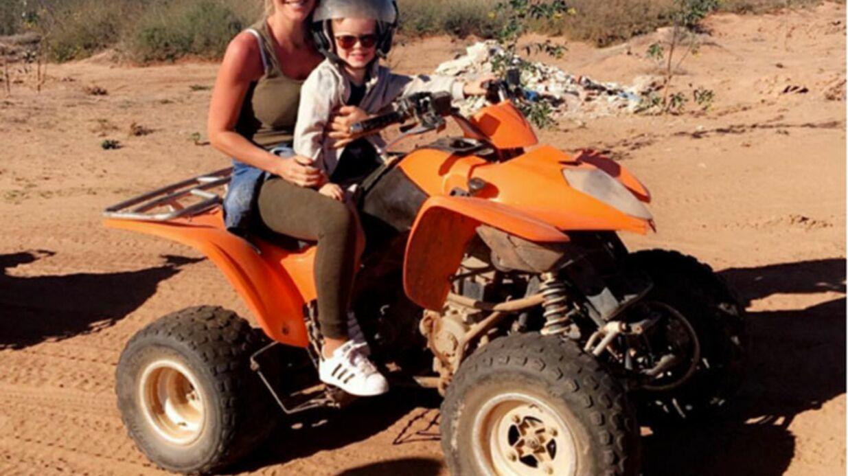 PHOTOS Amélie Neten: week-end ensoleillé à Marrakech avec son fils, Hugo