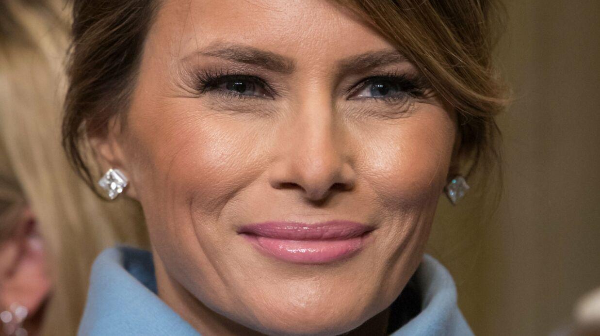 PHOTO Melania Trump beaucoup trop retouchée sur son portrait officiel, elle est la risée de la toile