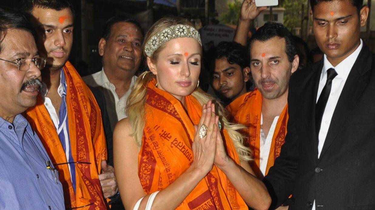 DIAPO Les fabuleuses aventures de Paris Hilton en Inde