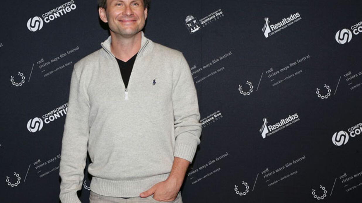 L'acteur Christian Slater s'est marié