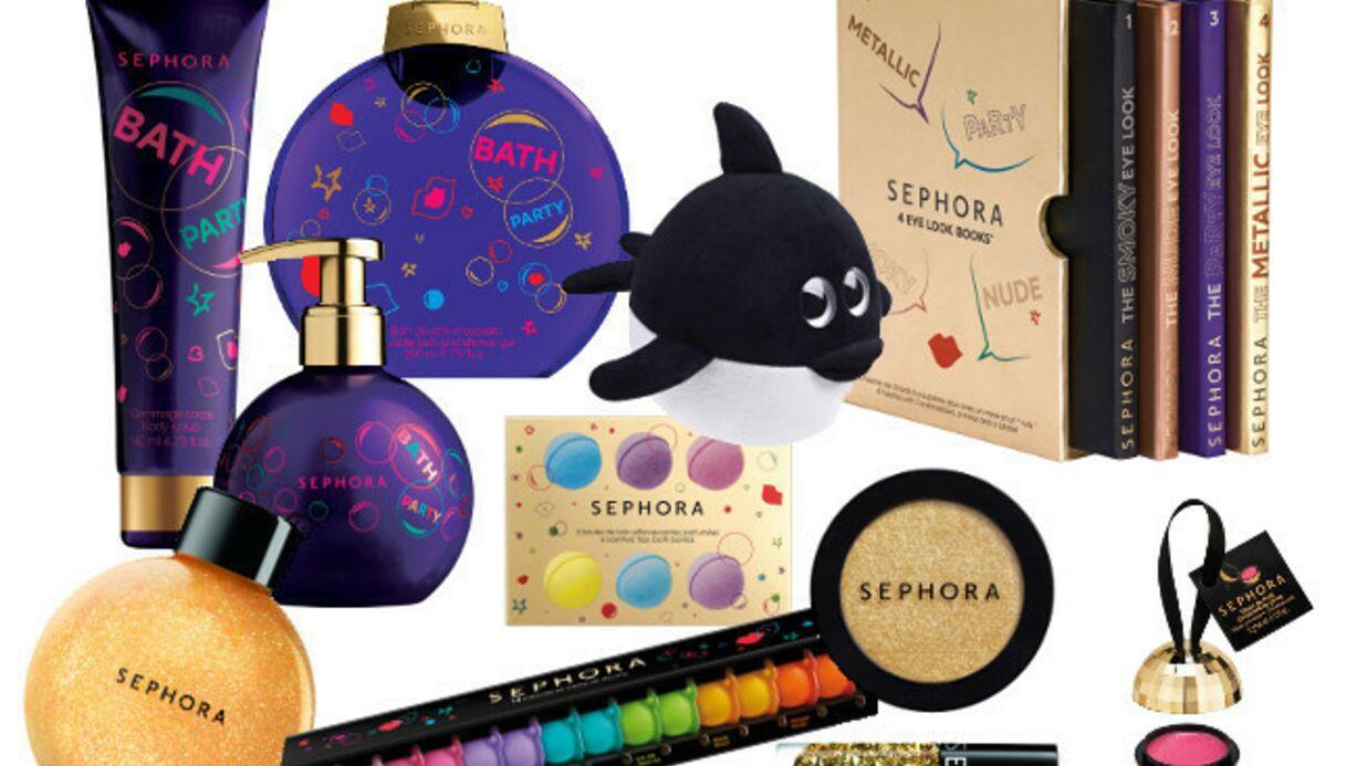 Un océan de cadeaux nous attend chez Sephora