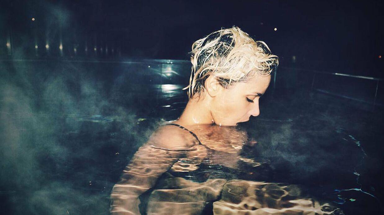 PHOTOS Shy'm en bikini, elle s'autorise un bain de minuit