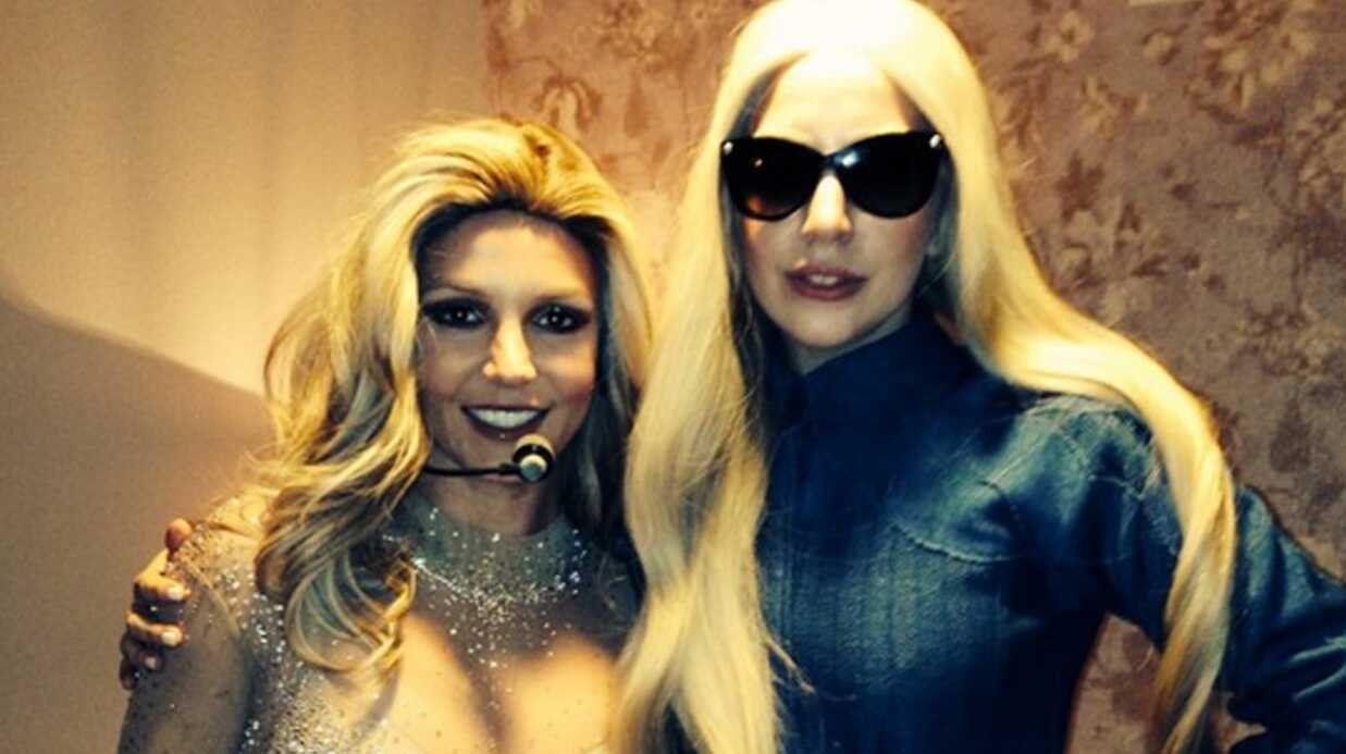 PHOTO Britney Spears méconnaissable aux côtés de Lady Gaga