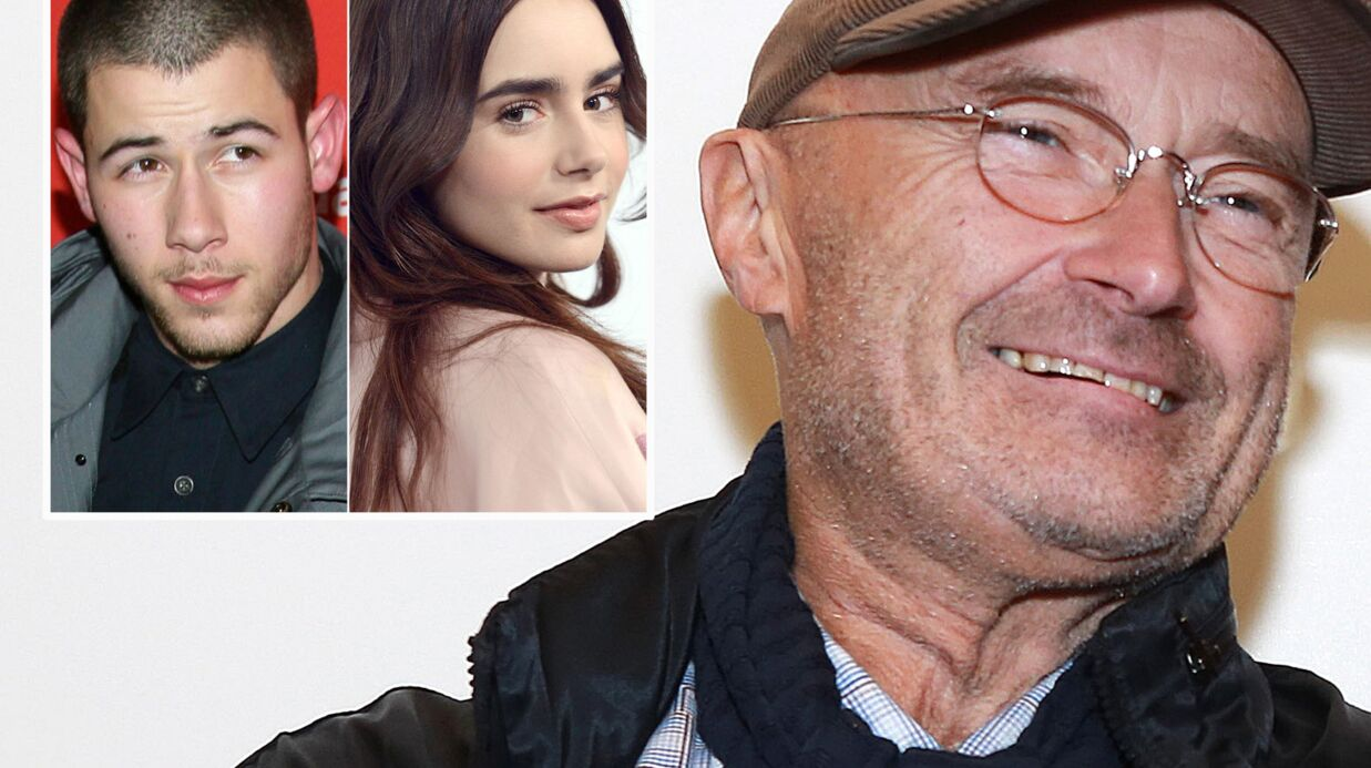 Phil Collins dément la liai­son entre sa fille Lily et Nick Jonas