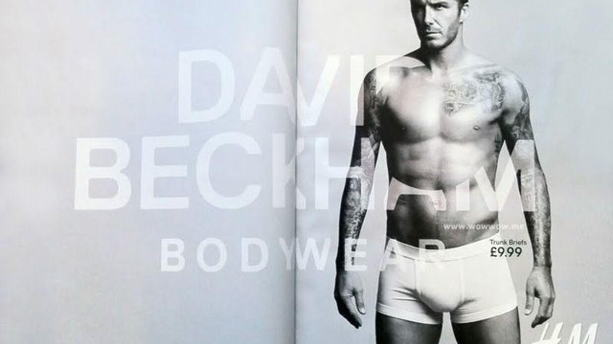 David Beckham presque nu pour H&M