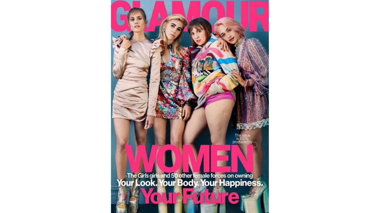 PHOTO Lena Dunham remercie Glamour d'avoir montré sa cellullite en couv du magazine