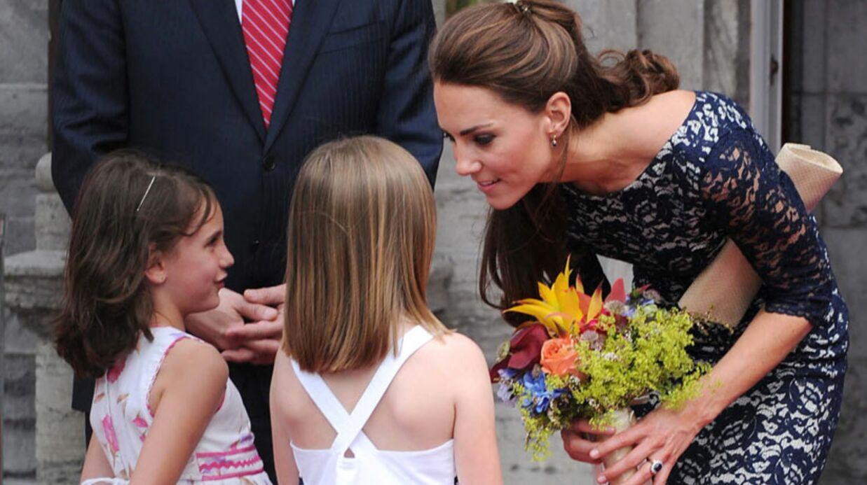 Kate Middleton, un enfant, vite!