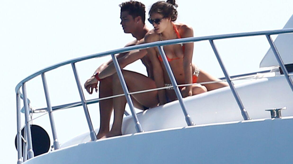 PHOTOS Cristiano Ronaldo avec son fils et Irina à Saint-Tropez