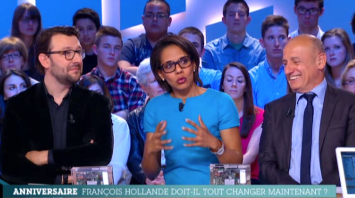 VIDEO Audrey Pulvar tacle Arnaud Monte­bourg sur Canal+
