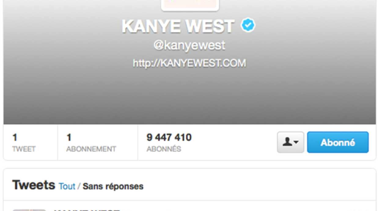Kanye West supprime tout ses tweets et dévoile une date mystère