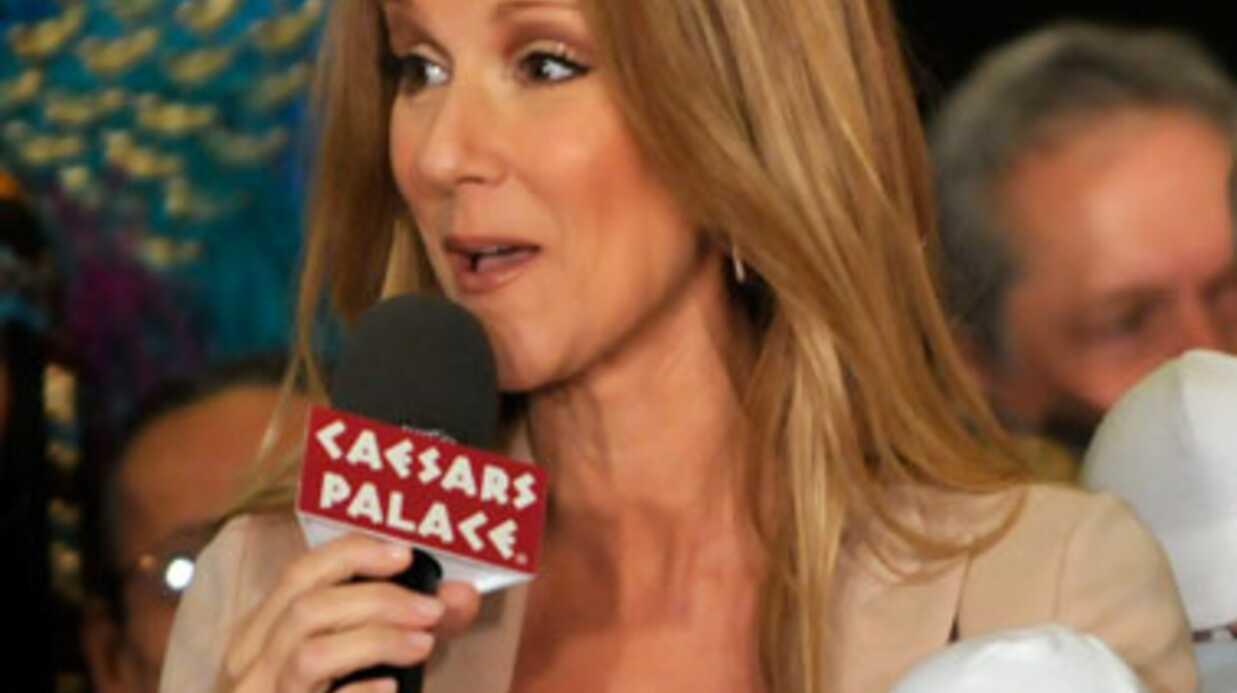 Céline Dion n'allaite qu'un jumeau sur les deux