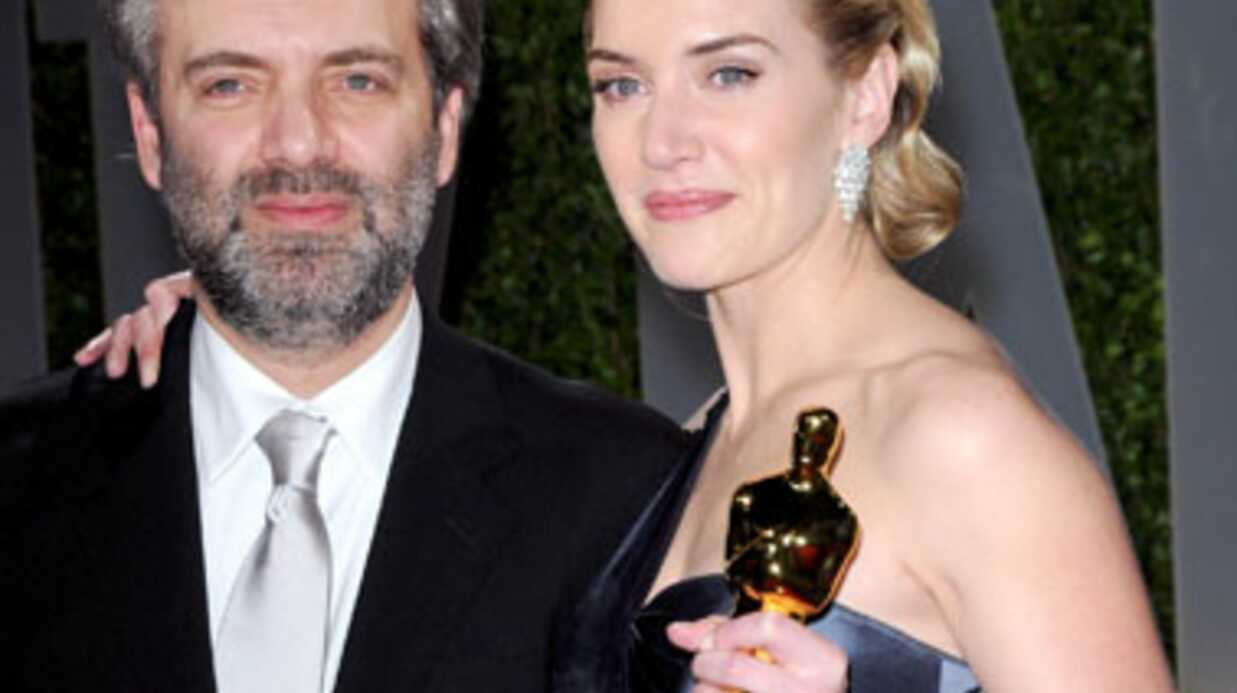 Kate Wins­let se réjouit d'avoir divorcé de Sam Mendes