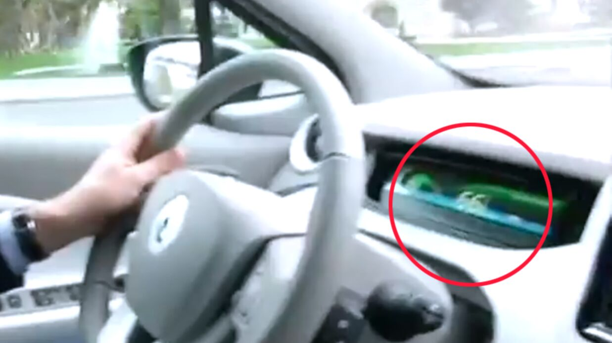 VIDEO Arnaud Montebourg pris en flag d'excès de vitesse