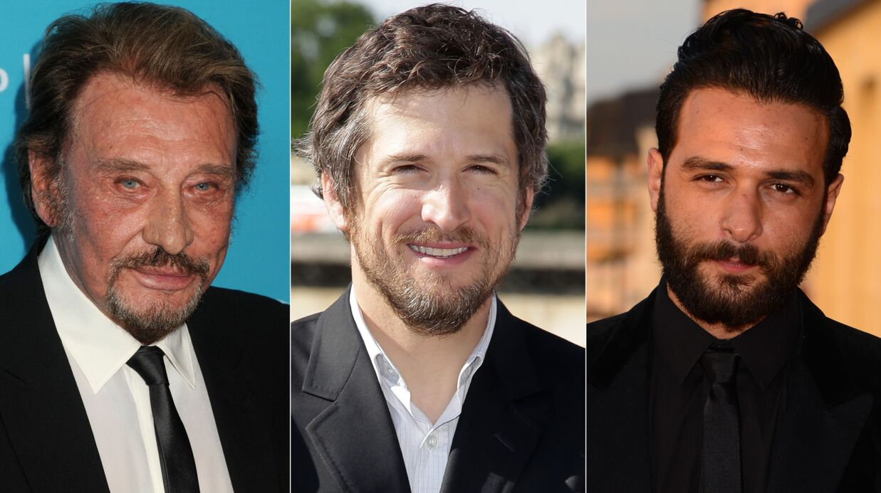 PHOTO Johnny Hally­day, Guillaume Canet et Maxim Nucci en mode « Happy Sunday »