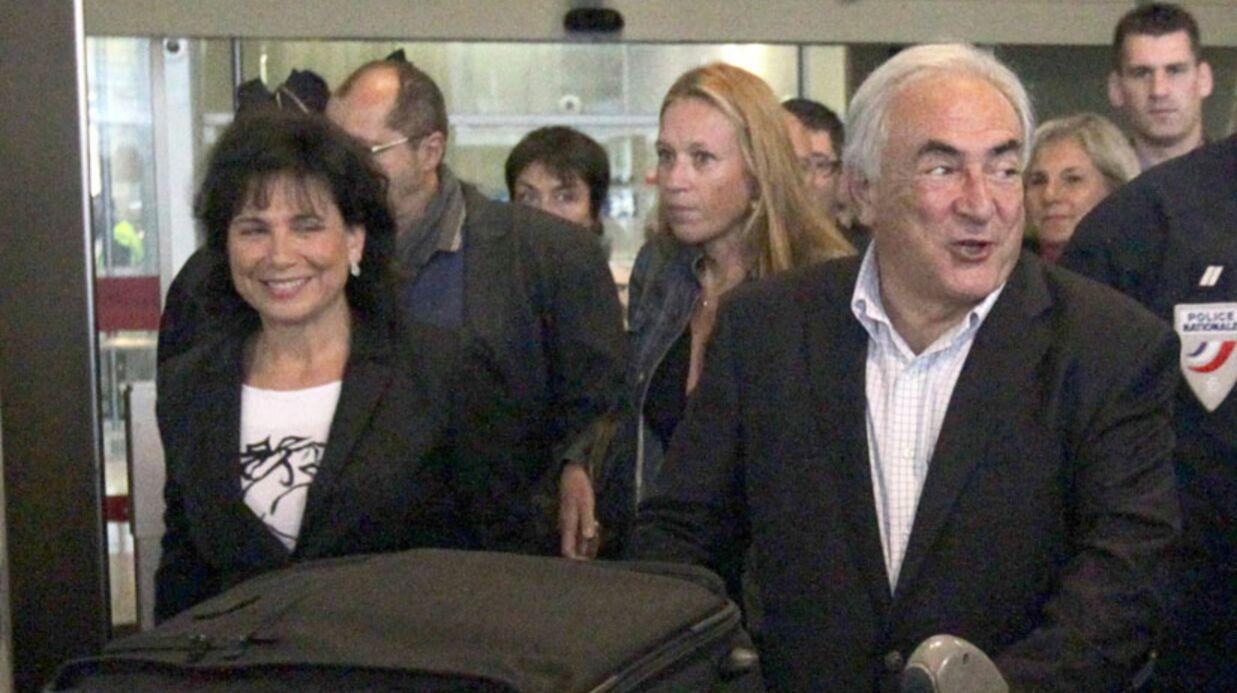Dominique Strauss-Kahn est arrivé à Paris