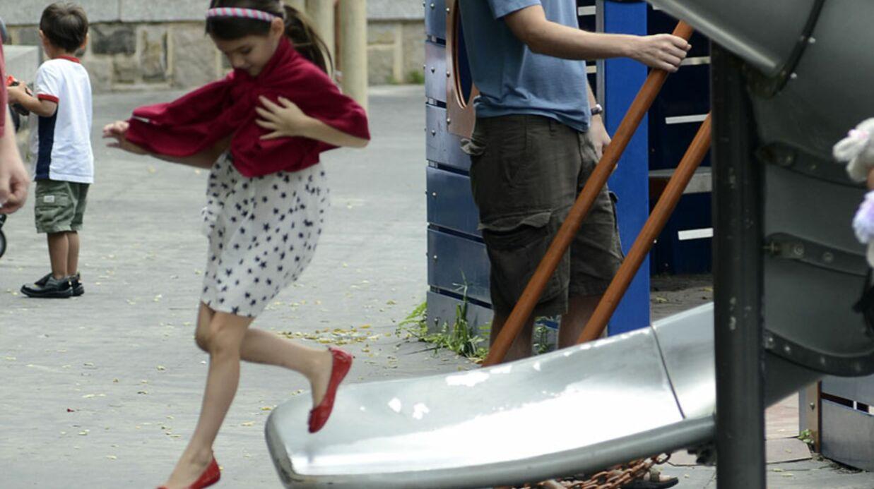 PHOTOS Suri et Katie Holmes: derniers instants de vacances