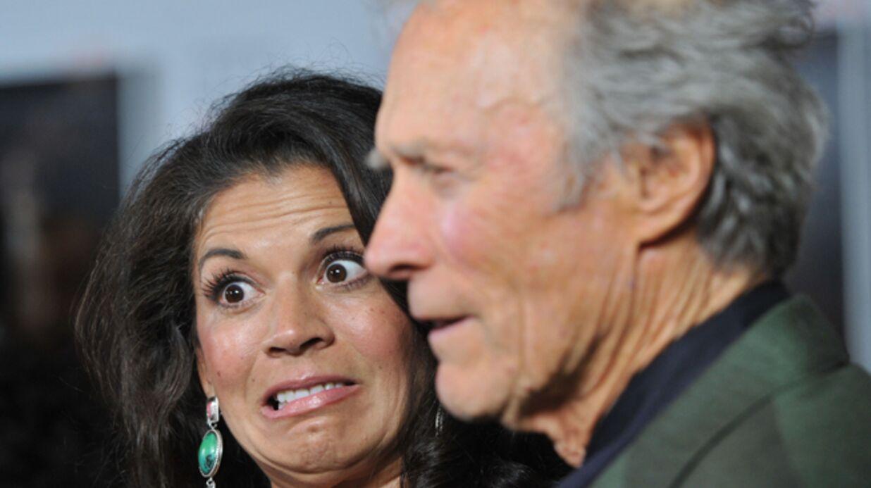 Clint Eastwood sort avec l'ex du nouveau mec de sa femme (une aspirine?)