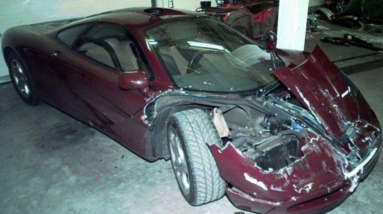 Rowan atkin son mister bean bless dans un acci dent de voiture voici - Coup du lapin accident de voiture ...