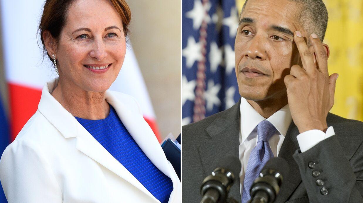 Ségolène Royal envoie un tweet en anglais plein d'erreurs de traduction à Barack Obama