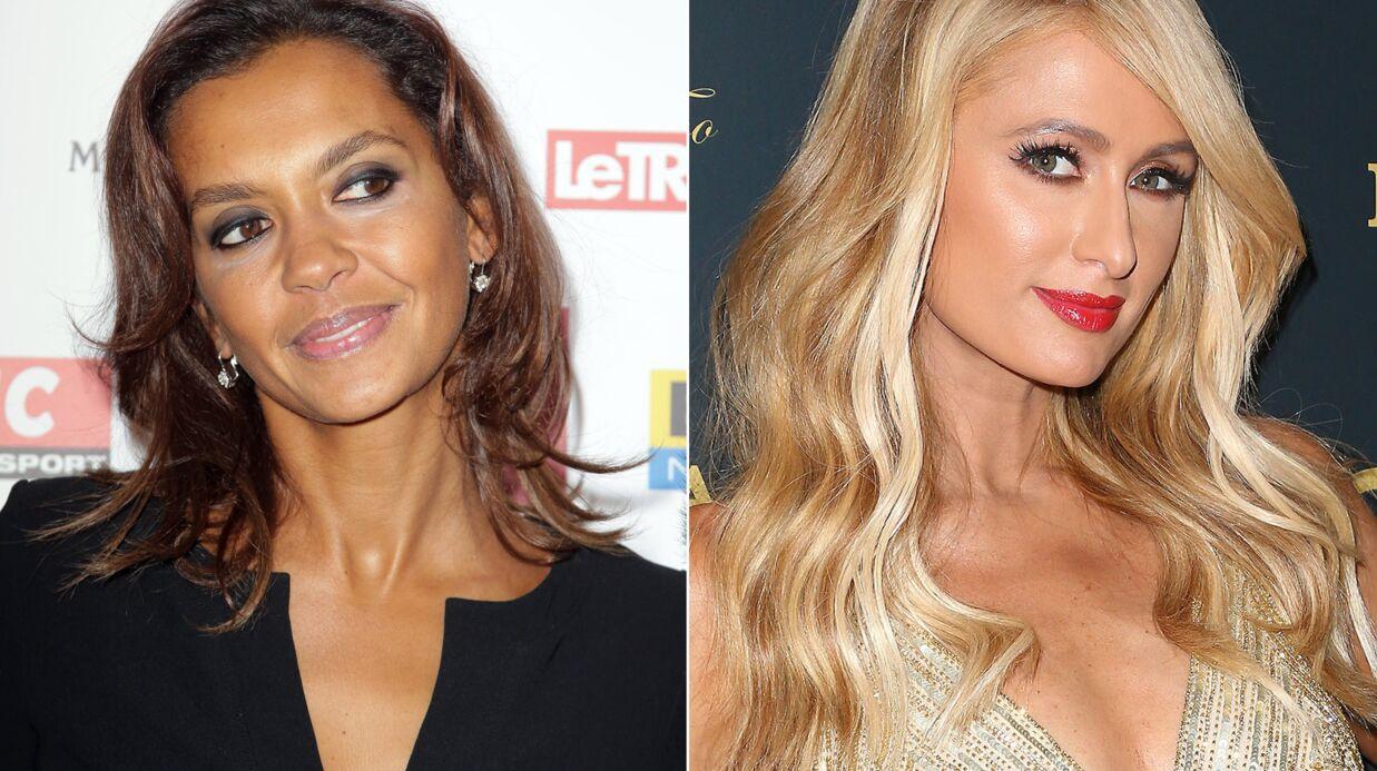 PHOTO L'improbable rencontre entre Karine Le Marchand et Paris Hilton à Ibiza
