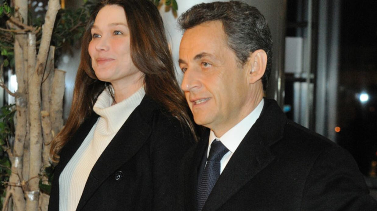 Carla Bruni-Sarkozy se déguise pour prendre le métro
