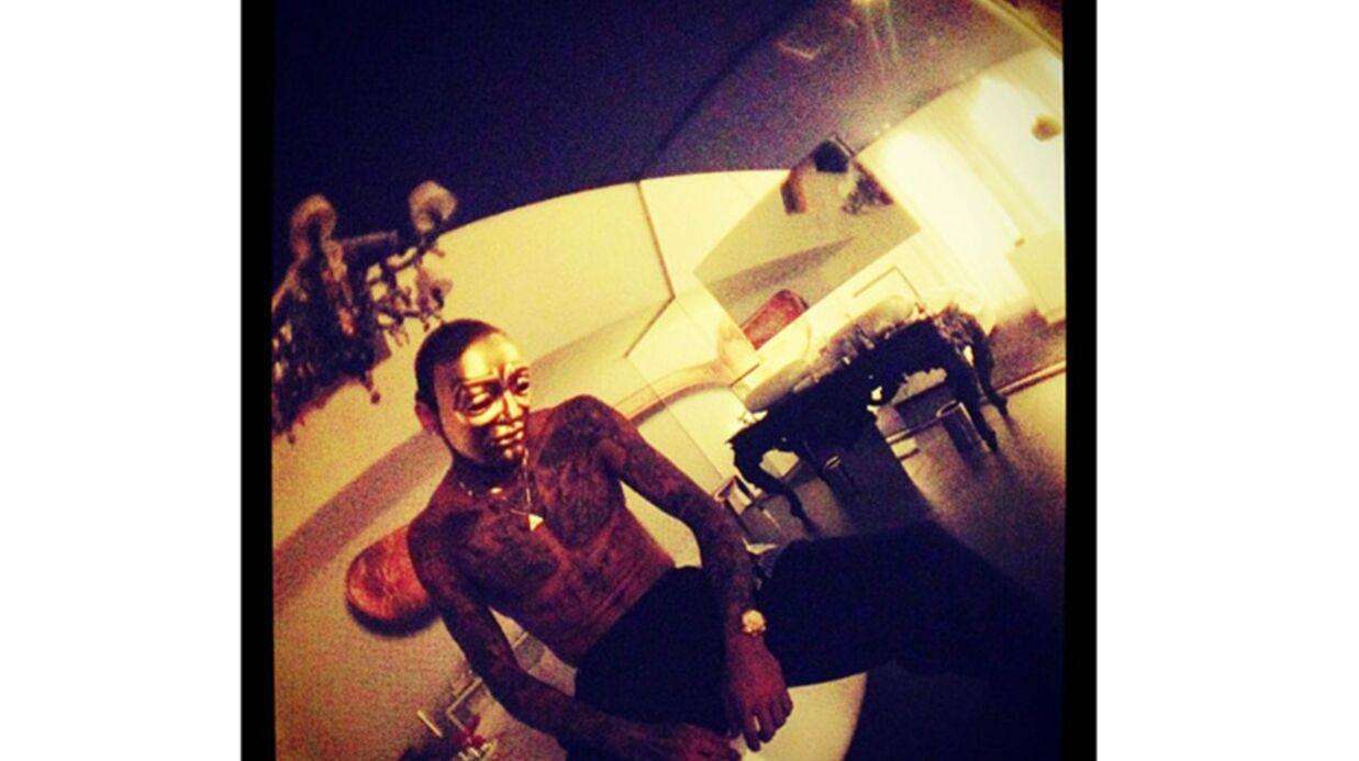 Chris Brown: soirée enfumée dans un coffee shop à Amsterdam