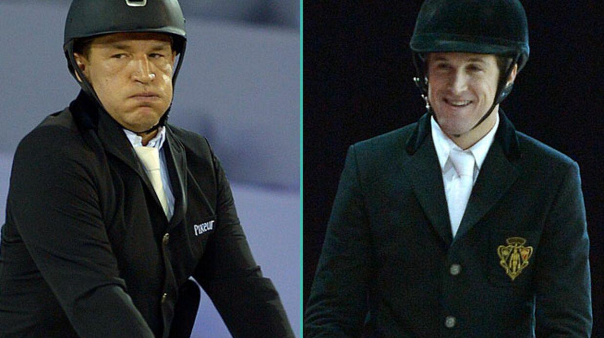PHOTOS Guillaume Canet et Benjamin Castaldi, fiers cavaliers aux Gucci Paris Masters