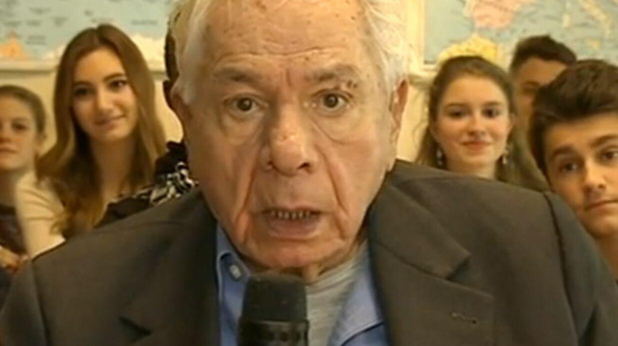 Michel Galabru provoque un gros malaise au JT belge