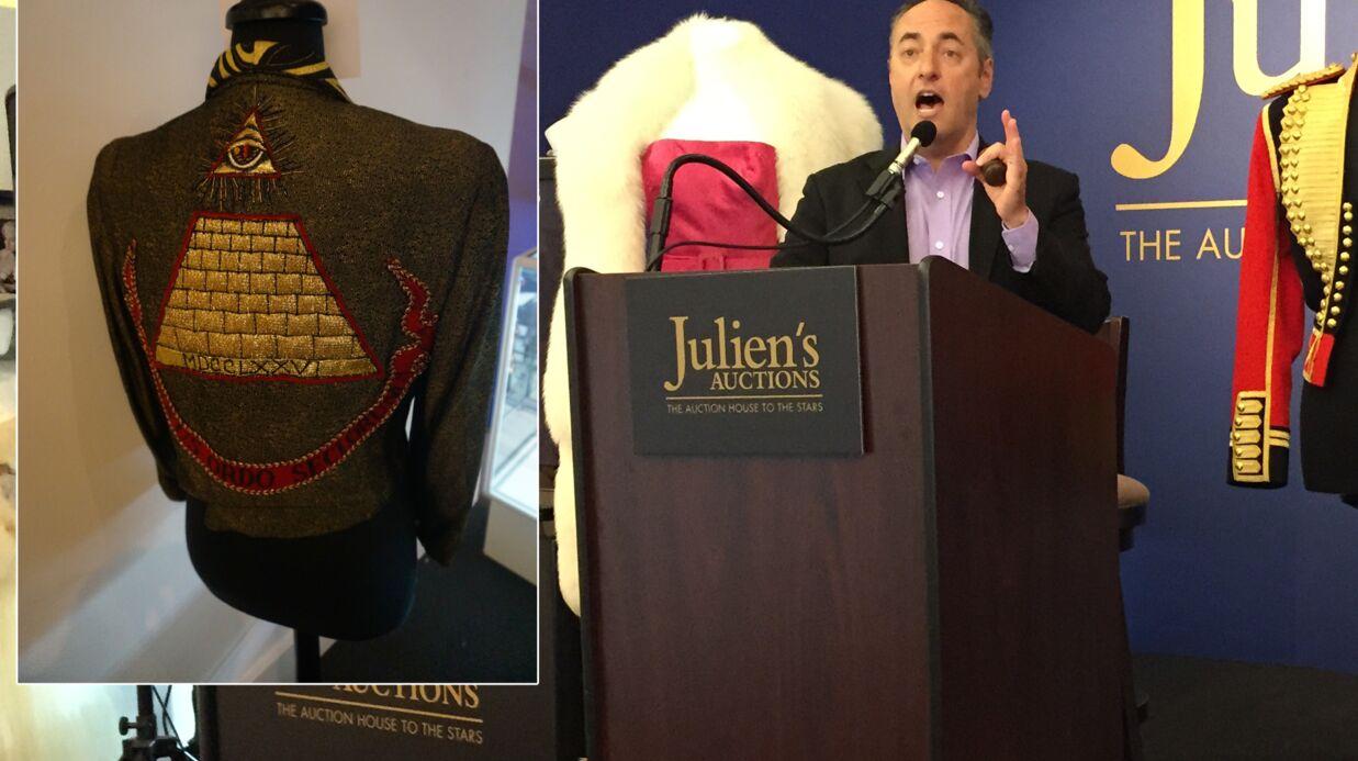 On a essayé d'acheter la veste de Madonna, mais c'était trop cher