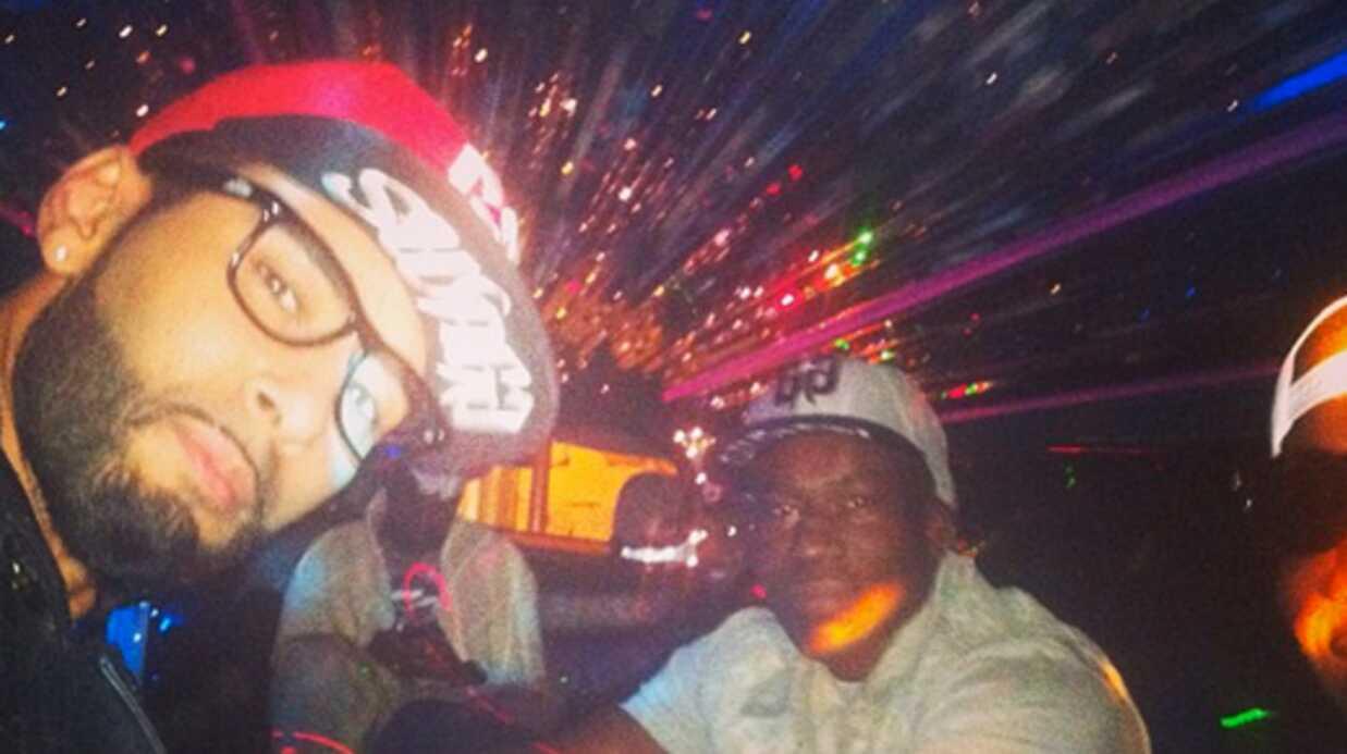 La Fouine publie les photos des impacts de balles sur sa voiture