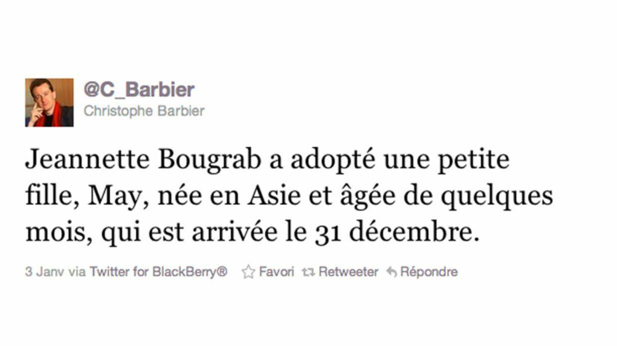 La ministre Jeannette Bougrab est maman