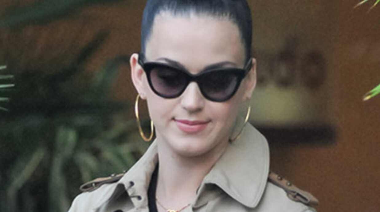 Quand Katy Perry transforme sa loge en marché aux légumes