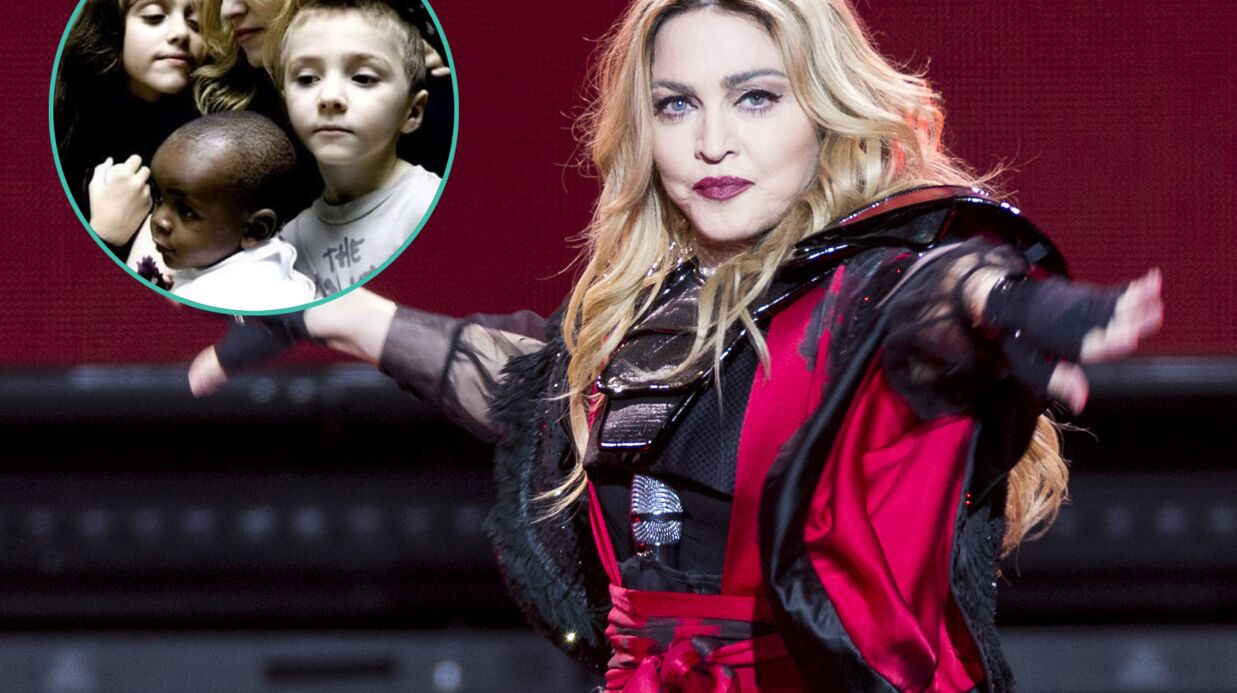 Madonna publie une photo du bon vieux temps, quand tout allait bien avec son fils