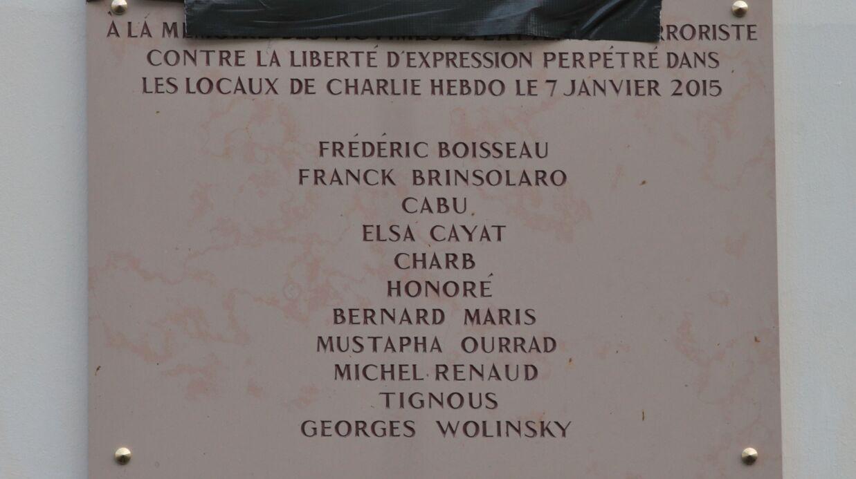 Maryse Wolinski «furieuse» de voir le nom de son mari écorché sur la plaque dédiée aux victimes du 7 janvier