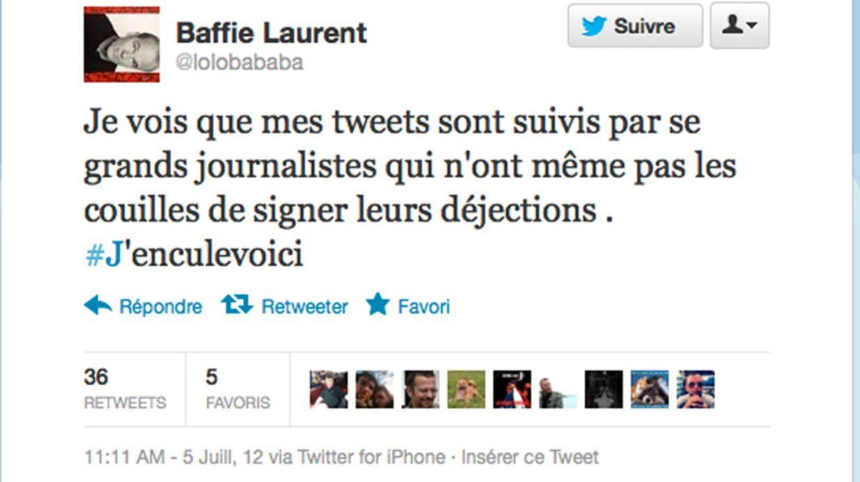 Laurent Baffie «enc*le Paris Première»