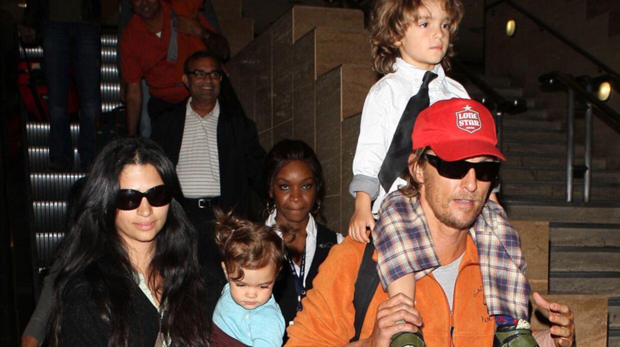 Matthew McConaughey et Camilla Alves: troisième bébé en route