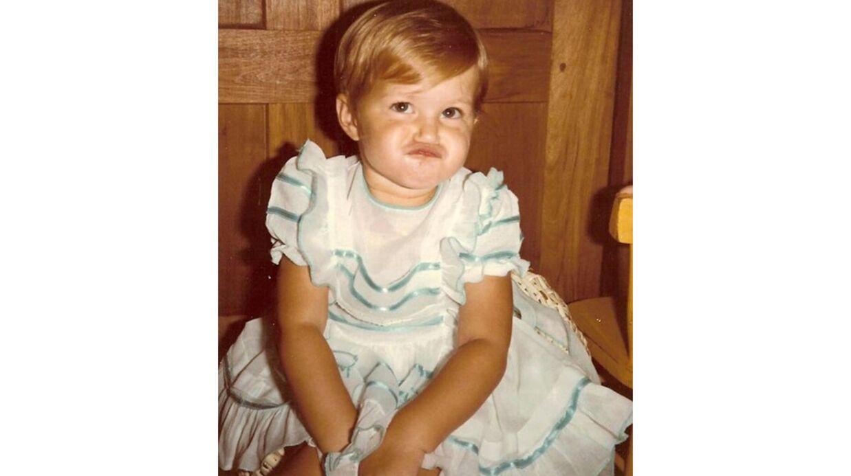 DEVINETTE Quel sublime top est devenue cette adorable fillette joufflue?