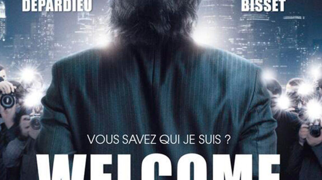 PHOTO Gérard Depardieu menotté sur l'affiche du film inspiré de l'affaire DSK