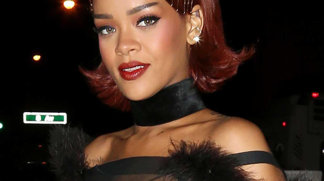 PHOTOS Rihanna sort seins nus pour l'after party du Met Ball