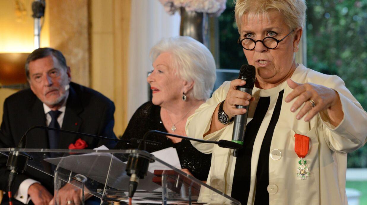 PHOTOS Mimie Mathy reçoit la Légion d'honneur entourée de sa famille et de ses amis stars
