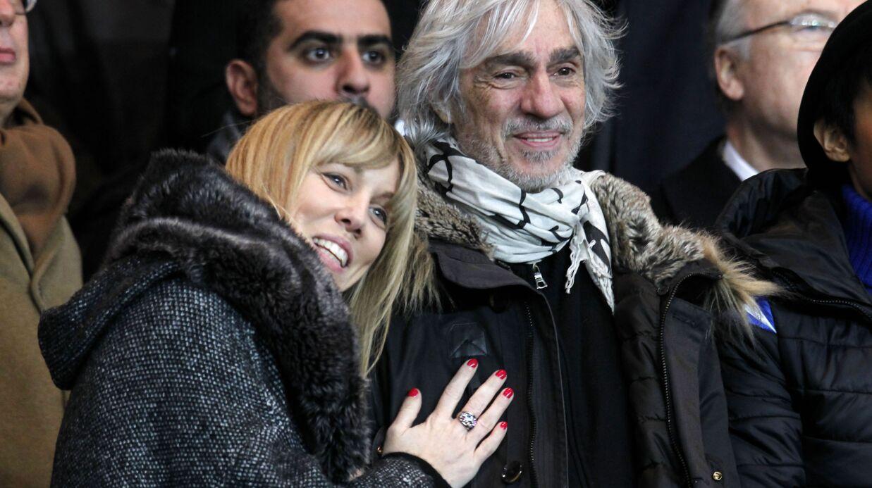 PHOTOS Louis Bertignac et sa petite amie de 34 ans sa cadette in love au stade