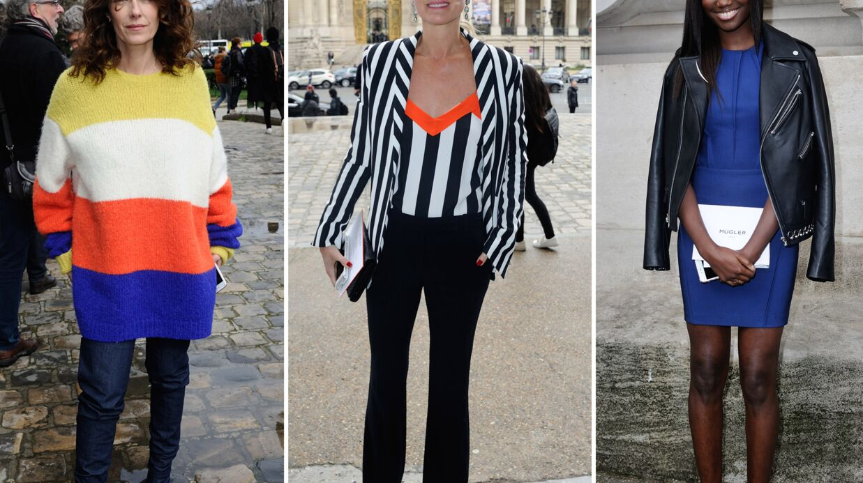 PHOTOS Fashion Week: Laeticia Hallyday, Mademoiselle Agnès et Karidja Touré misent sur la couleur au défilé Mugler!