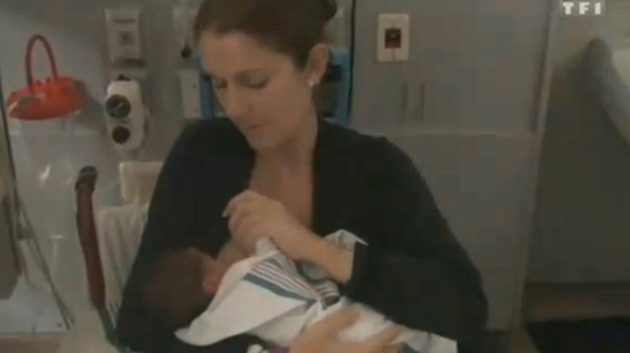 Céline Dion allaite encore un de ses jumeaux de deux ans