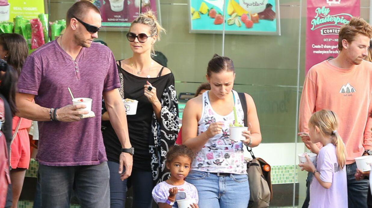 DIAPO Heidi Klum: sortie en famille avec son petit ami ou son garde du corps?