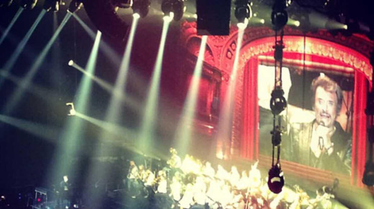 VIDEO Johnny Hallyday fait son retour sur scène à Montréal