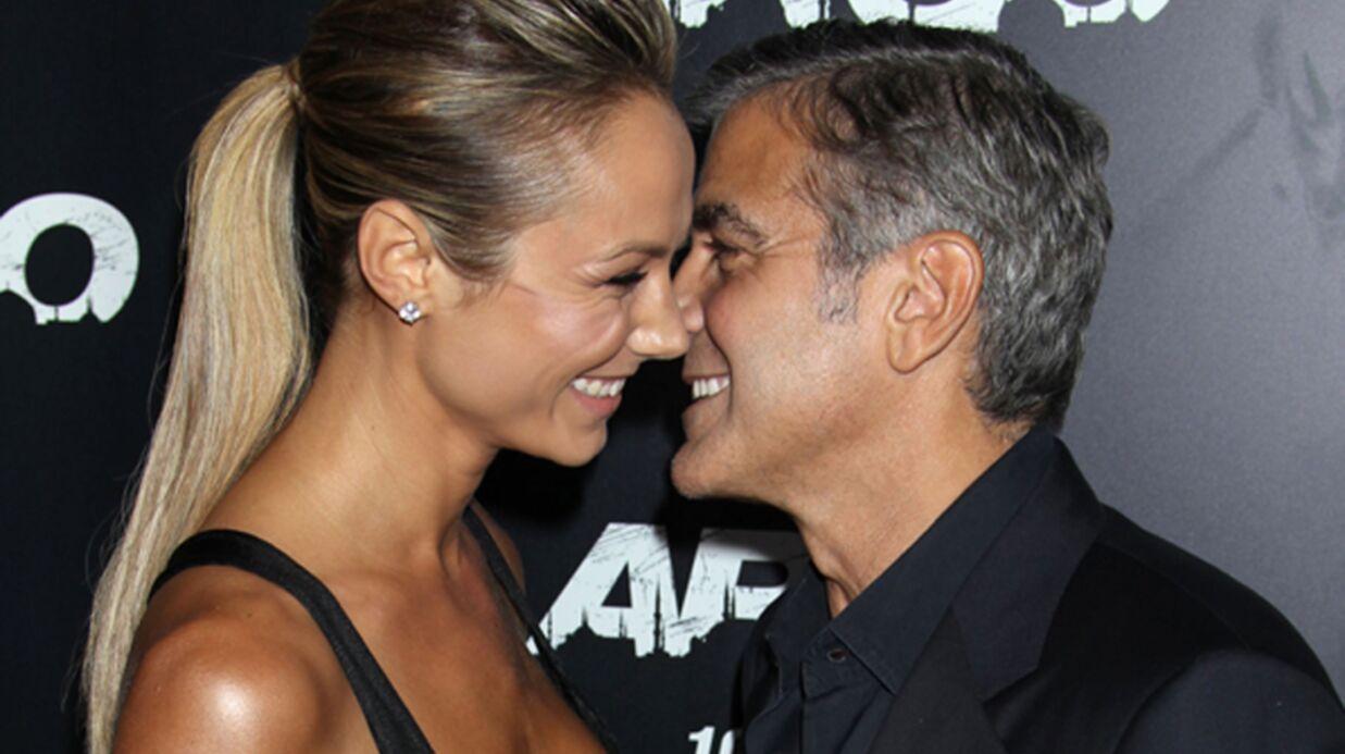 DIAPO George Clooney et Stacy Keibler font sensation