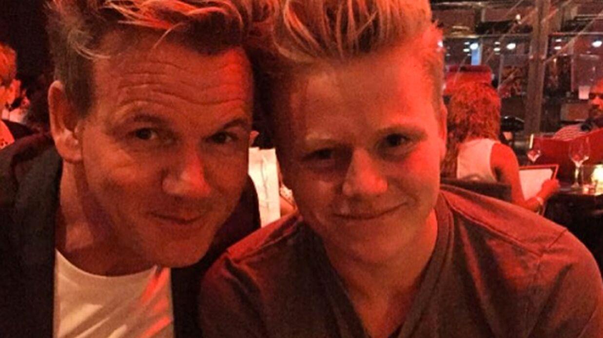PHOTOS Gordon Ramsay présente son fils Jack, son sosie parfait!
