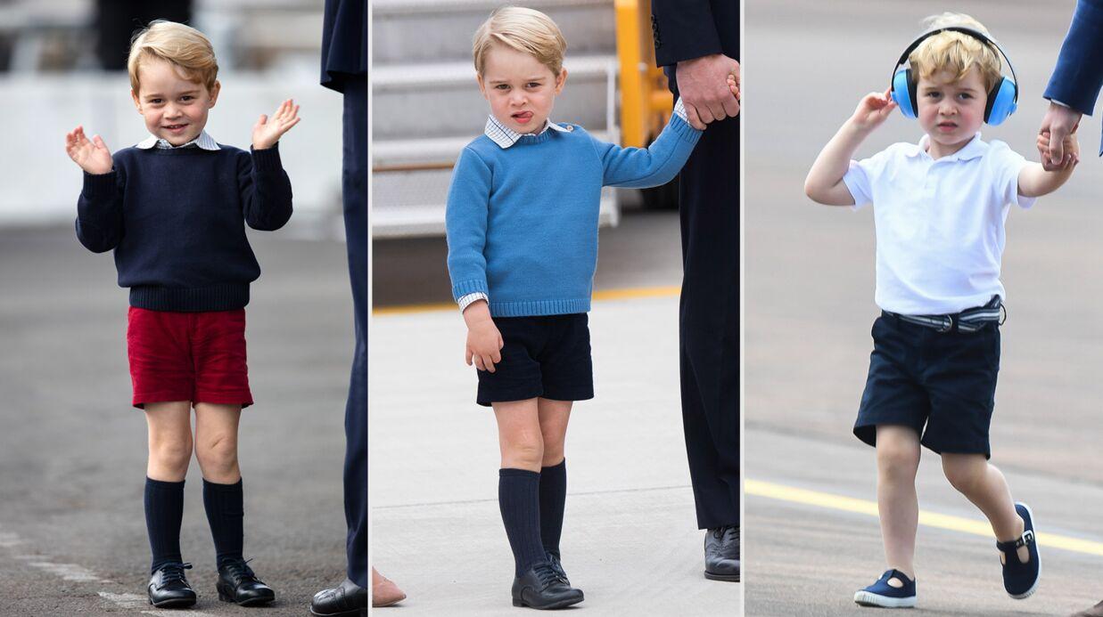 Prince George: l'étonnante raison pour laquelle il ne porte que des shorts dans ses apparitions officielles